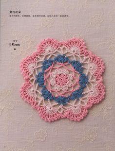crochet round motifs