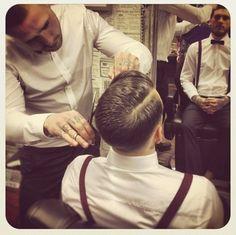 classic barber shops.