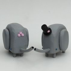 Wedding Cake Toppers!   http://www.etsy.com/shop/bunnywithatoolbelt