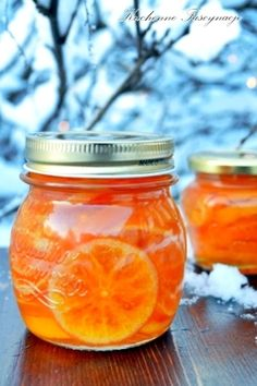 fruit, canning, candi clementin