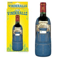 Vinderalls, wine bottle cover.