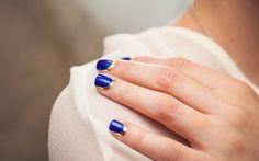"Passo a passo: aprenda a fazer a ""border nail"" da Chanel"