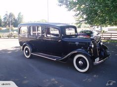 1932 Ford hearse