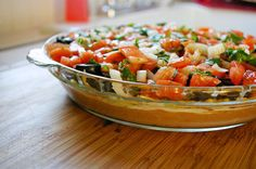 low fat 7 layer mexican dip.