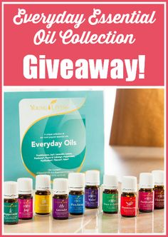 Everyday Essential Oils Collection Giveaway