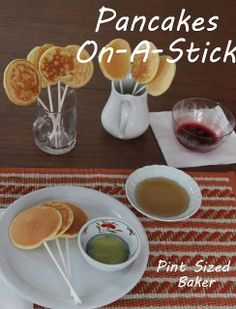 Pancakes, On-A-Stick