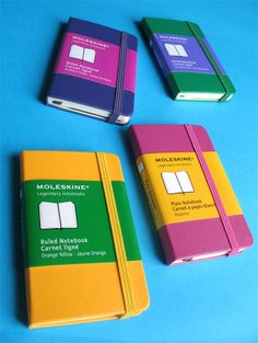 extra small notebooks!