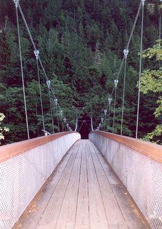 Washington state - Foot bridge