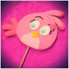 Galleta de Vainilla  Angry Birds Stella <3