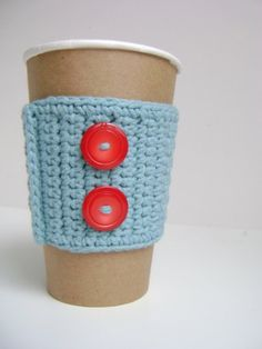 coffee cup cozy by thecozyproject.etsy.com