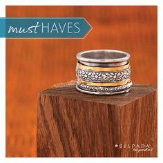 Twirl Ring | #Silpada To order go to http://www.mysilpada.com/louise.larsen