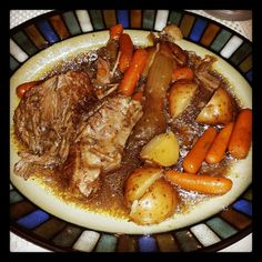 "Pot Roast/crock-Pot - ""The best ever!"" @allthecooks #recipe"