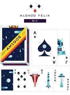 Amigos Playing Cards by Fictive Kin — Kickstarter