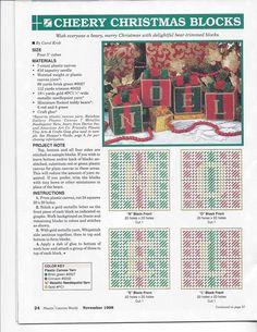 CHEERY CHRISTMAS BLOCKS (NOEL)