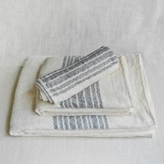 Kontex flax towels from Mūhs Home.