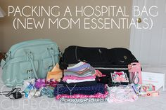 Packing a Hospital Bag for New Moms