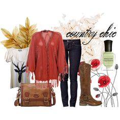 """""""Country Chic"""" by jessiedemolish on Polyvore"""