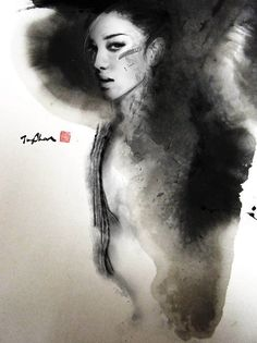 Hot Watercolor Paintings by Rola Chang