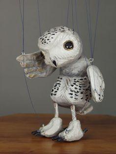 string puppet, owl string