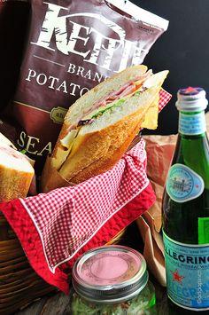 Hot Ham and Cheese Sandwich   Add a Pinch