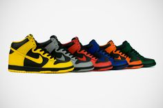 March Madness... i really want the yellow orange and green ones!!