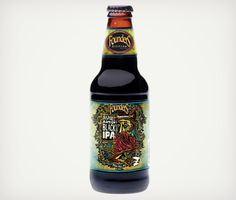 Inspired Artist Black #IPA from Founders Brewing. Should be available in August