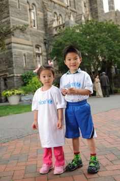 Young volunteers at Georgetown University for our #Promise4Children event