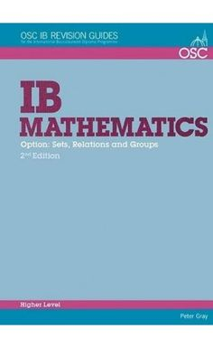 A practical student revision guide that specifically covers the HL Math topic that includes worked examples, questions and self-tests. ISBN: 9781907374609