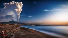 Mount Etna on the east coast of Sicily erupts this past weekend, via 500px