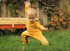 'Dragon Baby' Video Features Cutest Kung-Fu Toddler Fight You'll Ever See