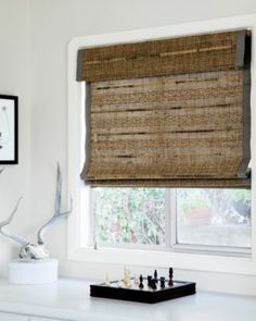 Natural woven shades on pinterest bamboo window for Smith and noble natural woven shades
