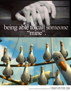 Calling someone 'mine'…