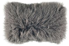 fab grey, fusa silver, decor pillow, mohair pillow, design