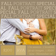 Get some portraits done! When was the last time you had some??