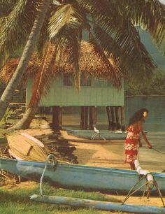 Vintage Tahiti