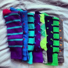My crazy socks from Express.