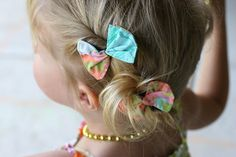 Scrap-Busting Hair Bows | Prudent Baby