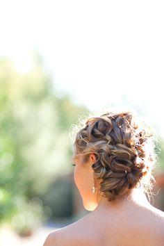 Gorgeous #bridal #hairstyle
