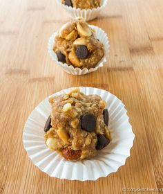 Banana, chocolate, peanut butter, and oats are just a few reasons we love these Chunky Monkey Cookie Dough Bites.