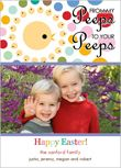 easter card, photo card, free card