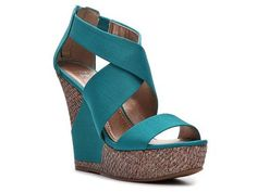 BCBG Paris Rando Wedge Sandal