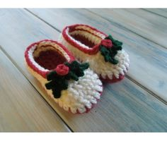 (PDF PATTERN) Simple Chunky Baby Shoes