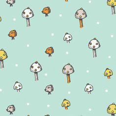 scamper, birch fabric, mushroom dot, fabric mushroom, birch organ, fabric sewing, fabric fave