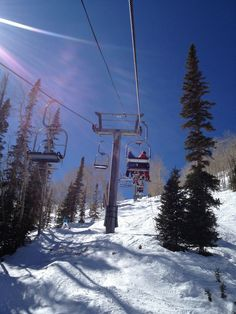 Beautiful day on the FIS at Aspen Mountain Mar 9 2012