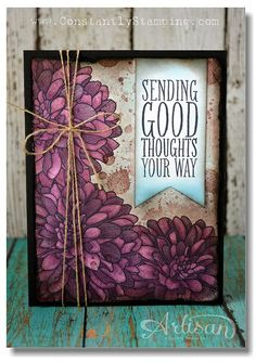 by Connie Collins, Constantly Stamping