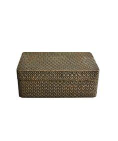 Scalloped Metal Box