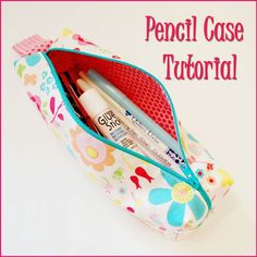 sewing a pencil case, back to school sewing projects, sewing pencil case, lunch bags, pencil cases