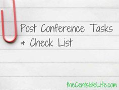 Post-Conference Action List: Social Media Saturday
