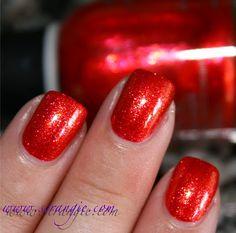 Orly Emberstone (Glittery Red-Orange)
