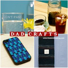 Friday Internet Crushes: Dad Craft Roundup | The Zen of Making #fathersday #DIY #gifts